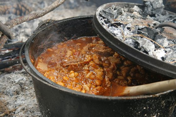 Campfire cooking, forest school, devon, exeter, a touch of the wild