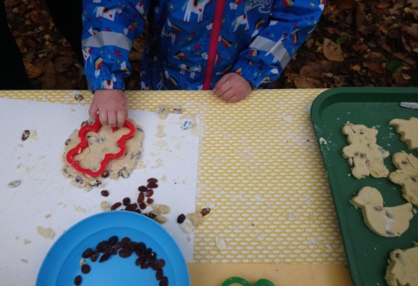 welsh cakes at our kindergarten